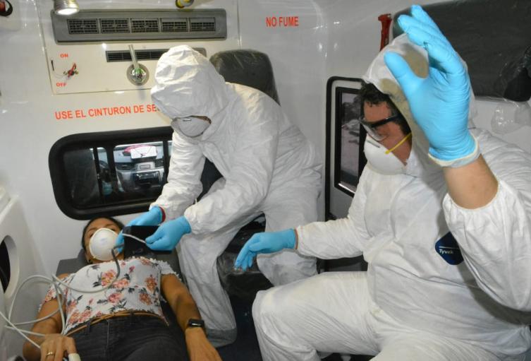 El ejercicio se realizó para revisar la capacidad de atención del Hospital Universitario de Caribe