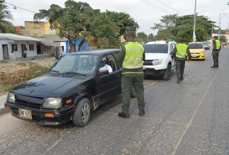 En varios sectores de la ciudad y algunos municipios de Bolívar no hicieron caso