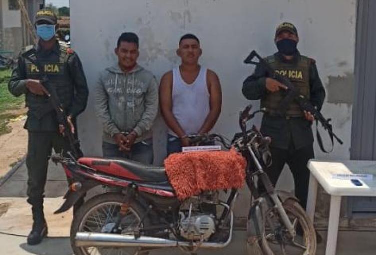 En el corregimiento de Retiro Nuevo fueron detenidos