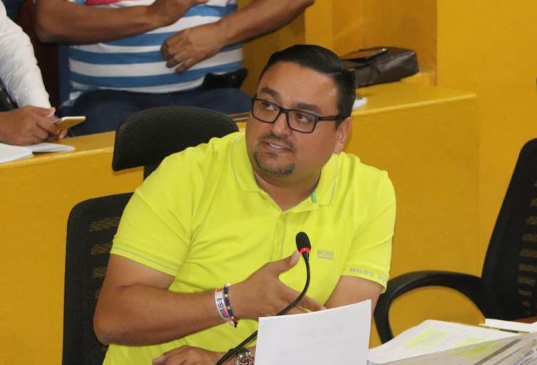 Carlos Barrios Concejal de Cartagena