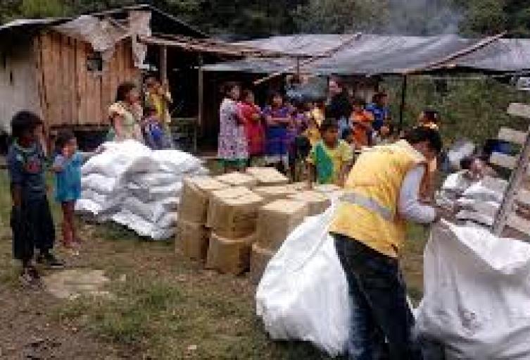 Ayudas a damnificados de San Andrés y Providencia