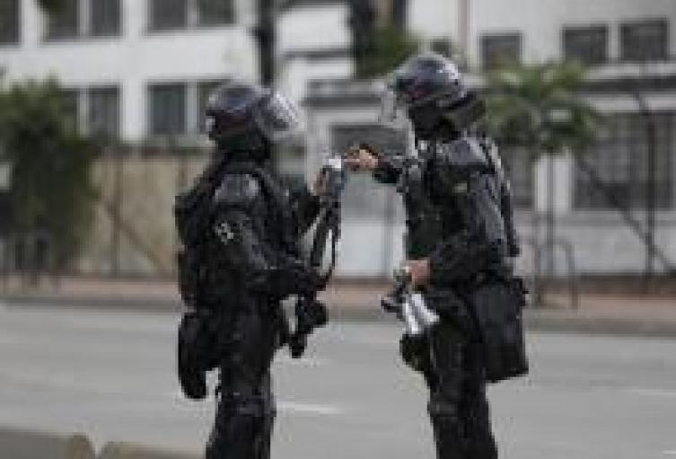 Disturbios en Vía Troncal del caribe