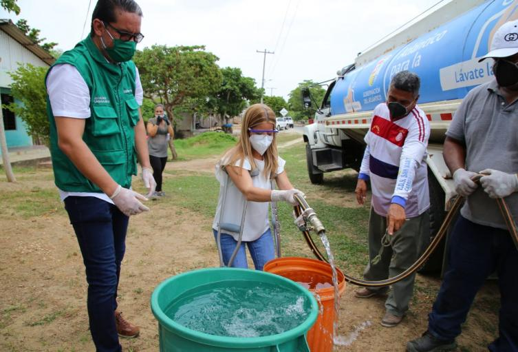 Ayudas humanitarias ante emergencia por coronavirus.