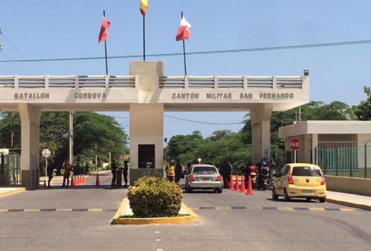 Batallón Cordova, Santa Marta, Magdalena, Covid - 19