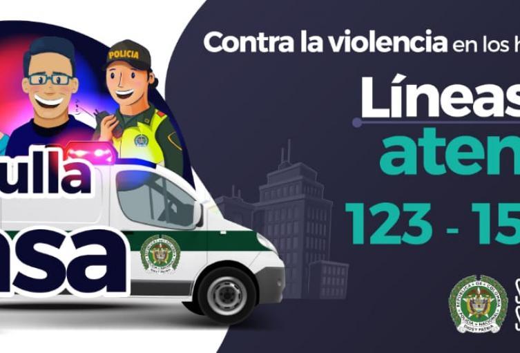 Policía Nacional en Sucre lanza Campaña en contra de la violencia intrafamiliar
