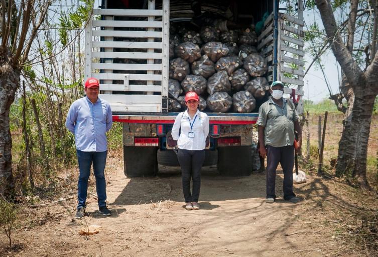 Agradecidos con el gobierno departamental se encuentran campesinos en Sucre.