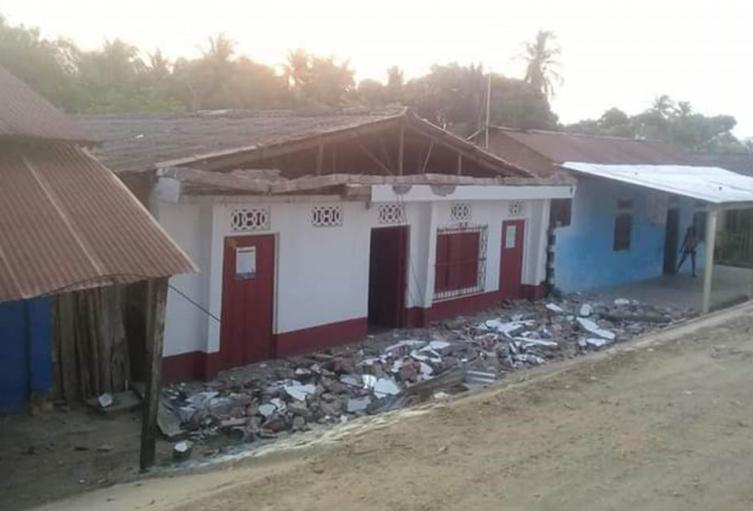 Temblor, Santa Marta, Magdalena