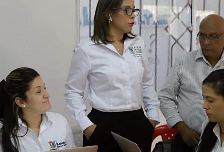 Marly Guiterrez Alcaldesa Luruaco