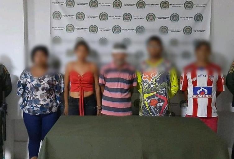 Policìa Nacional capturò a nueve personas por los delitos de asonada y obstrucciòn de vìas de Carretera en el departamento de Sucre.
