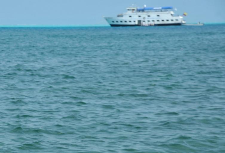 Barco en San Andrés / Coronavirus en San Andrés