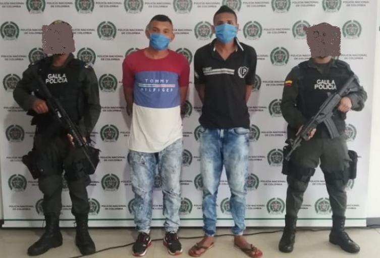 Capturado tres extorsionistas en San Marcos, Sucre