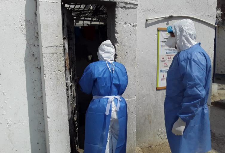 Salud distrital se toma la Cárcel Rodrigo de Bastida de Santa Marta
