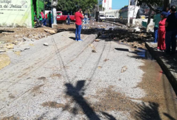 Sin servicio de agua potable se encuentra el 50% de Cartagena