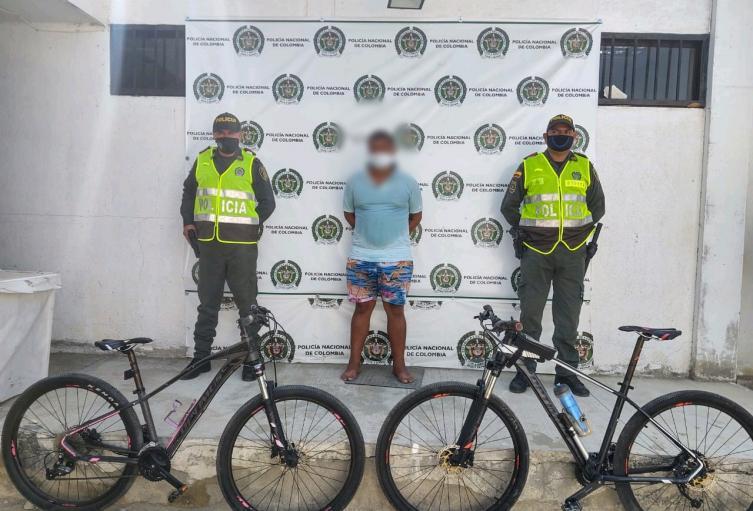Policía, Bicicletas, Santa Marta, Magdalena