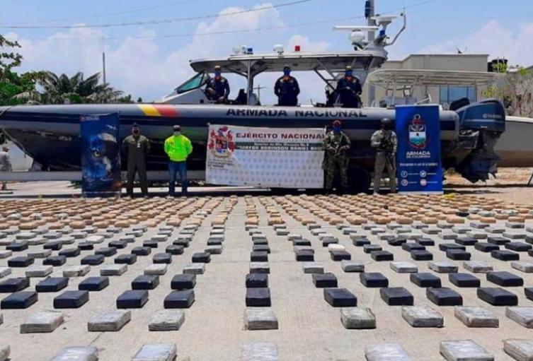 Más de 900 kilogramos de cocaína incautados en Magdalena
