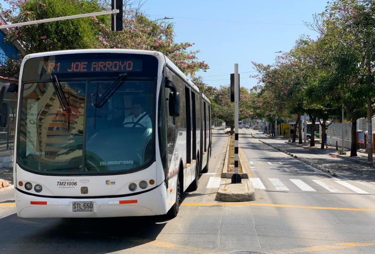 Las rutas de Transmetro funcionarán en su horario normal.