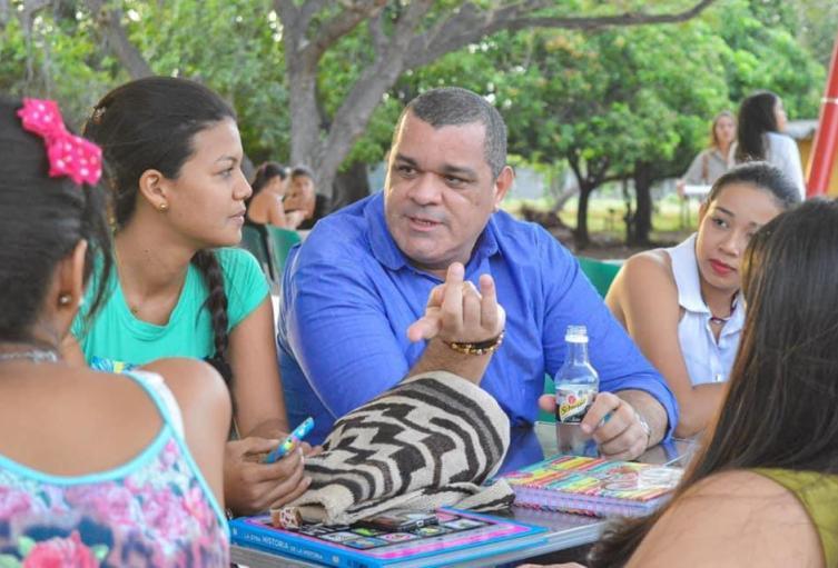 Estudiantes de la Universidad de La Guajira