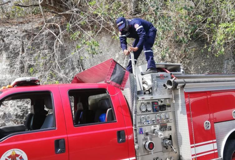 primer caso de bomberos
