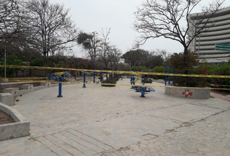 cierre de parques