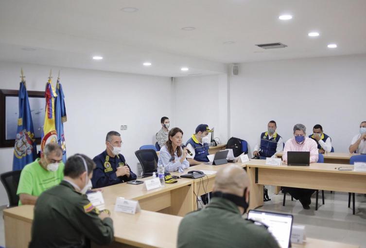 Reunión Vicepresidente en Cartagena