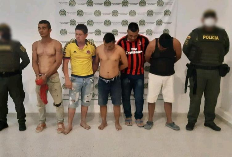 Cinco personas capturadas en coloso por violencia contra servidor pùblico