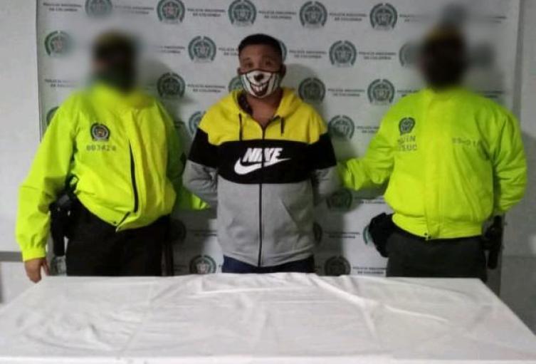 Policìa Nacional capturò en Majagual Sucre a presunto responsable de asesinato.
