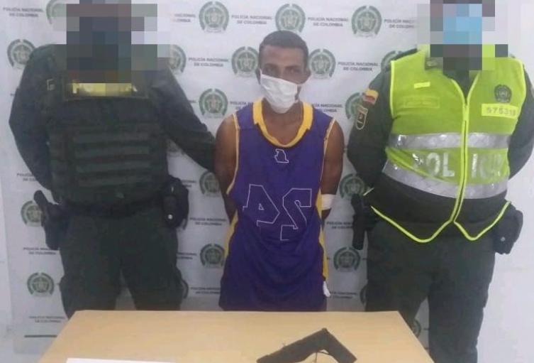 """Capturado  Alias """" El Pendevicio"""" en Corozal,Sucre"""
