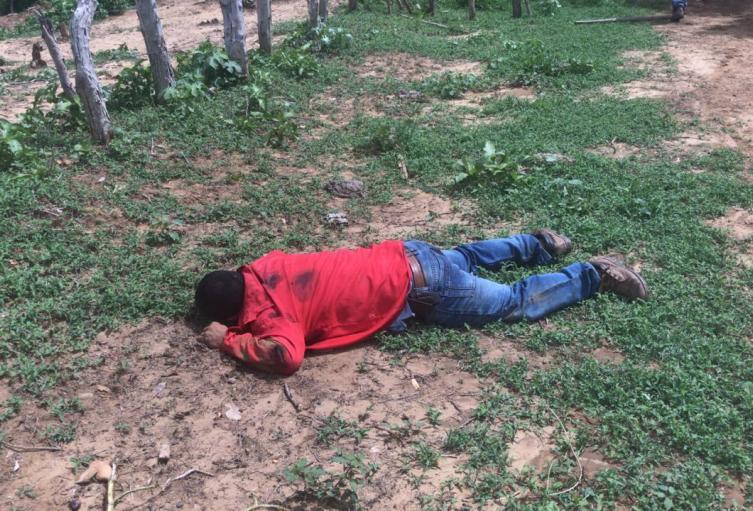 Con cinco balazos en su cuerpo fue hallado el cuerpo