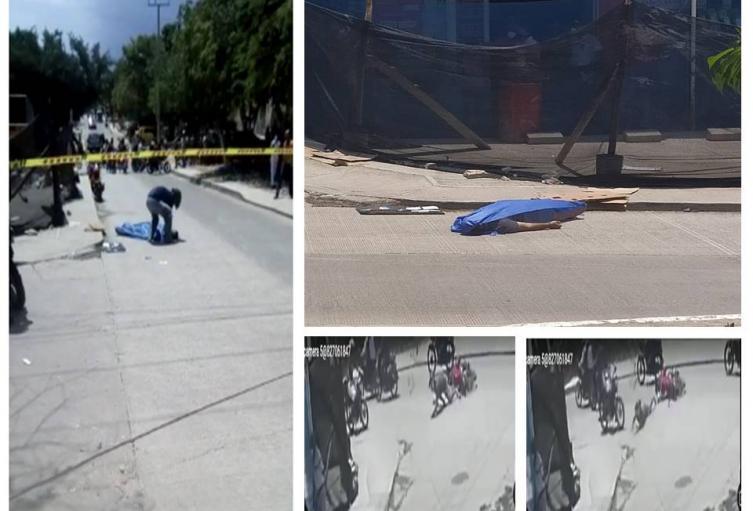 Cayó de la moto y fue arrollado por otra moto