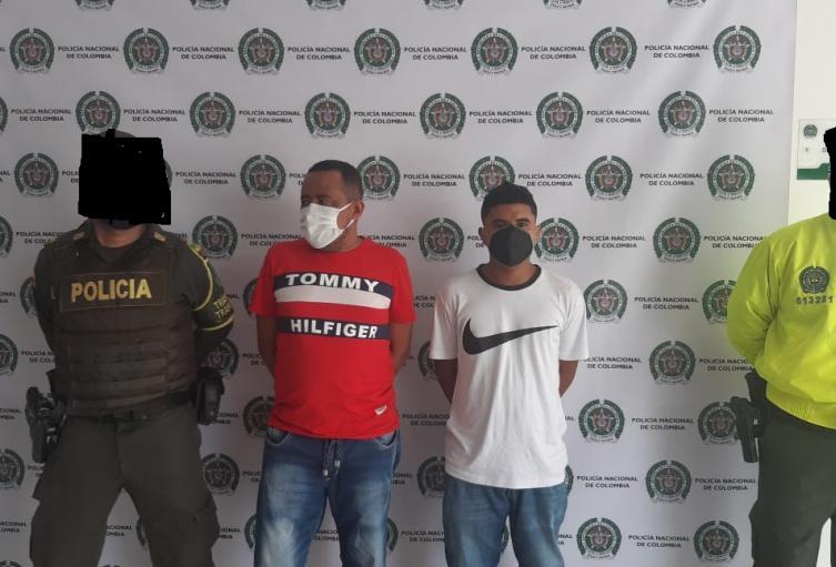 Piratas terrestres capturados en Sincelejo por los delitos de hurto calificado y agravado