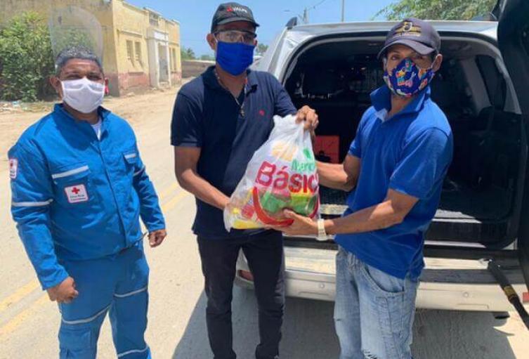 Empresarios se unieron a las autoridades para entregar ayudas a sectores vulnerables