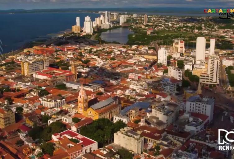Con el cañón de la fe, no nos derrotaran jamás: Cartagena con valores