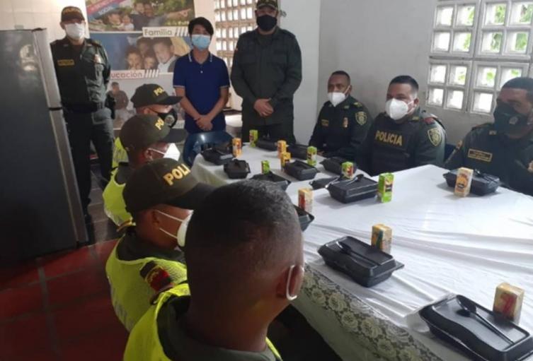 """""""Caravanas por el Bienestar"""" de la Policía del Departamento de Bolívar"""