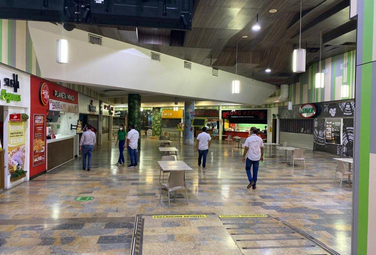 En Montería habilitaron varios centros comerciales.
