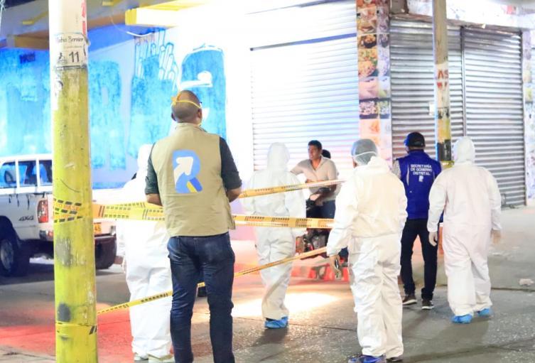 Las autoridades cerraron dos barrios de Riohacha.