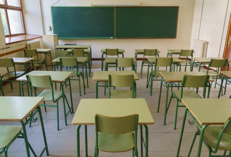 Este los estudiantes no regresarán a las aulas de clases