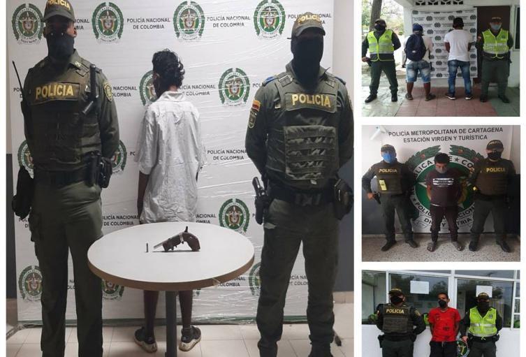 De los 102 capturados 74 son por violar las medidas sanitarias