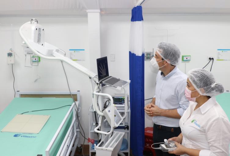 El hospital cuenta con tecnología avanzada.