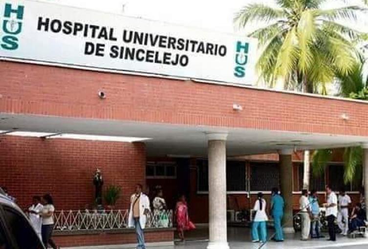 Hospital Universitario de Sincelejo informò que uno de sus trabajadores,fallecio ayer victima del coronavirus.