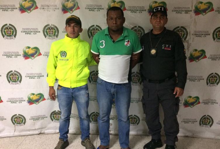 Víctor Meriño fue acusado del homicidio de Bernardo Cuero.