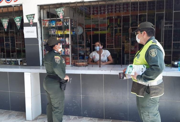 Aracataca, Comando Situacional, Policía, Magdalena