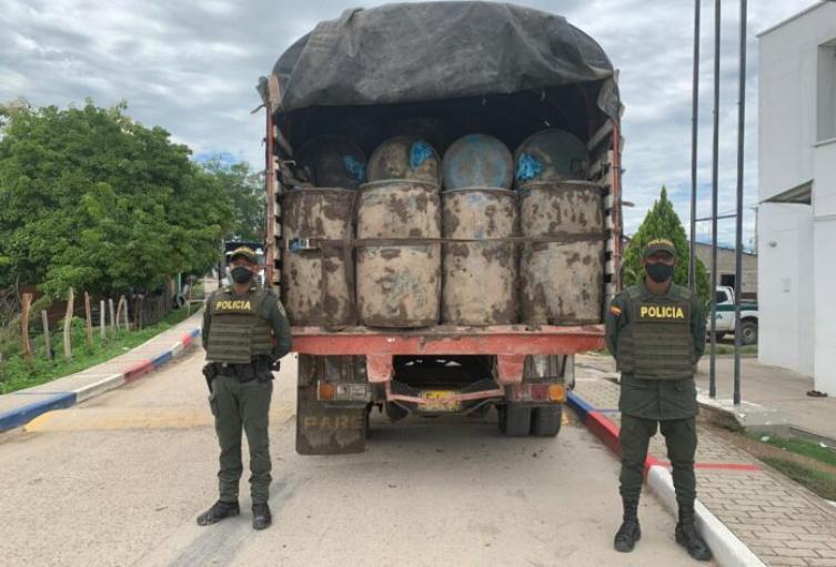 La carga está avaluados aproximadamente en 20 millones de pesos.
