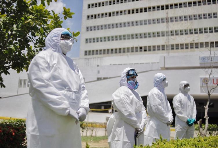 Panorama general de hospitalización en Cartagena