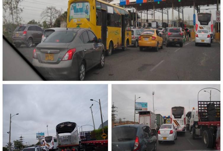 Los conductores recibieron esta mañana la noticia cuando se desplazaban hacía Ceballos