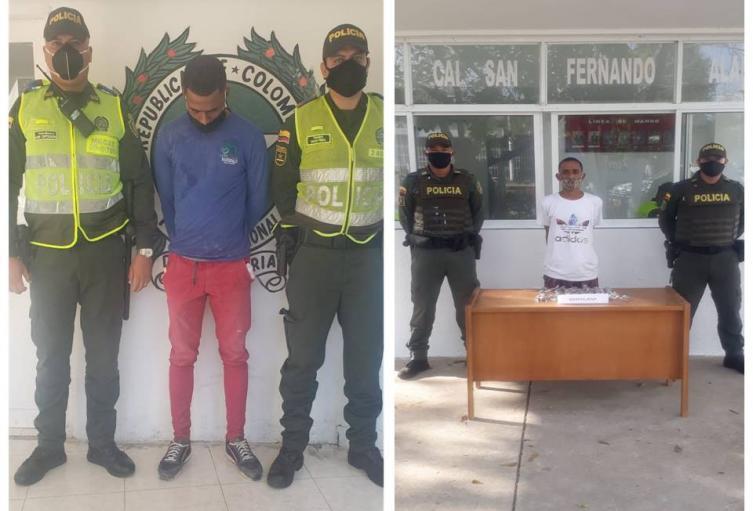Cor arma de fuego y droga fueron aprehendidos por las autoridades