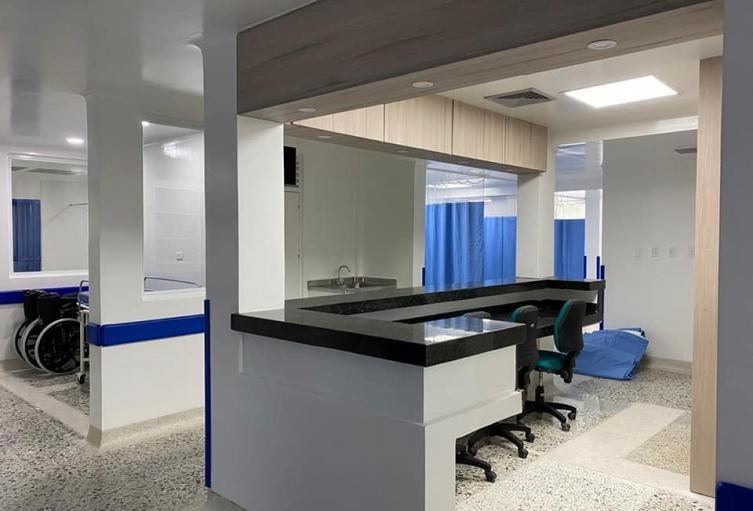 Hospital Universitario de Sincelejo pone en marcha la sala de urgencias totalmente remodelada