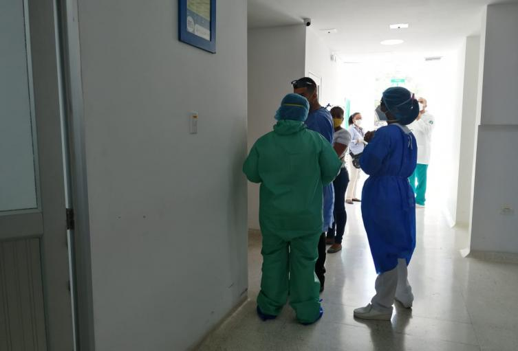 tres  nuevos casos de positivos de COVID19 en el sector salud en Santa Marta, los casos son asintomáticos