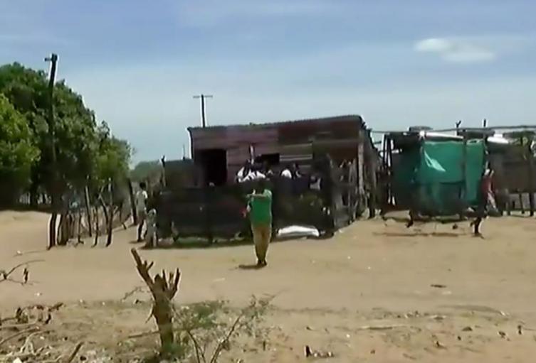 El hecho de violencia ocurrió en la invasión Los Milagros, en la comuna diez de Riohacha