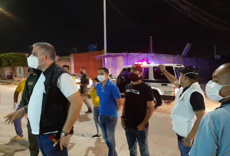Operativos nocturnos de las autoridades en Maicao