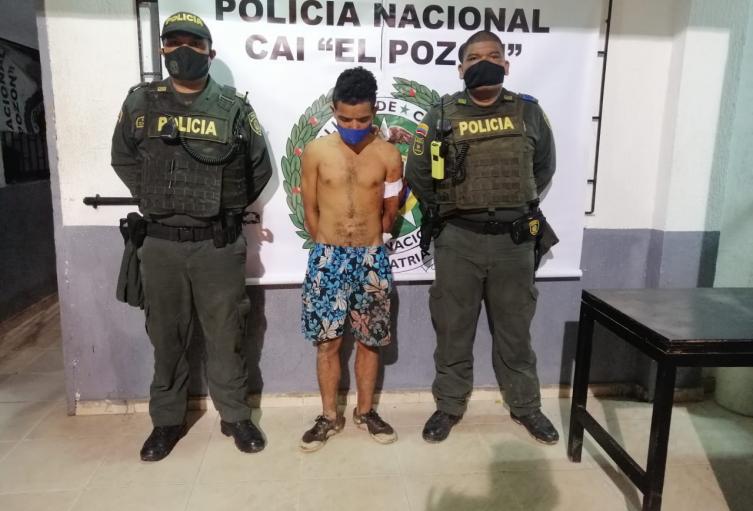 Por el presunto homicidio de John Luis Padilla Montero, de 25 años